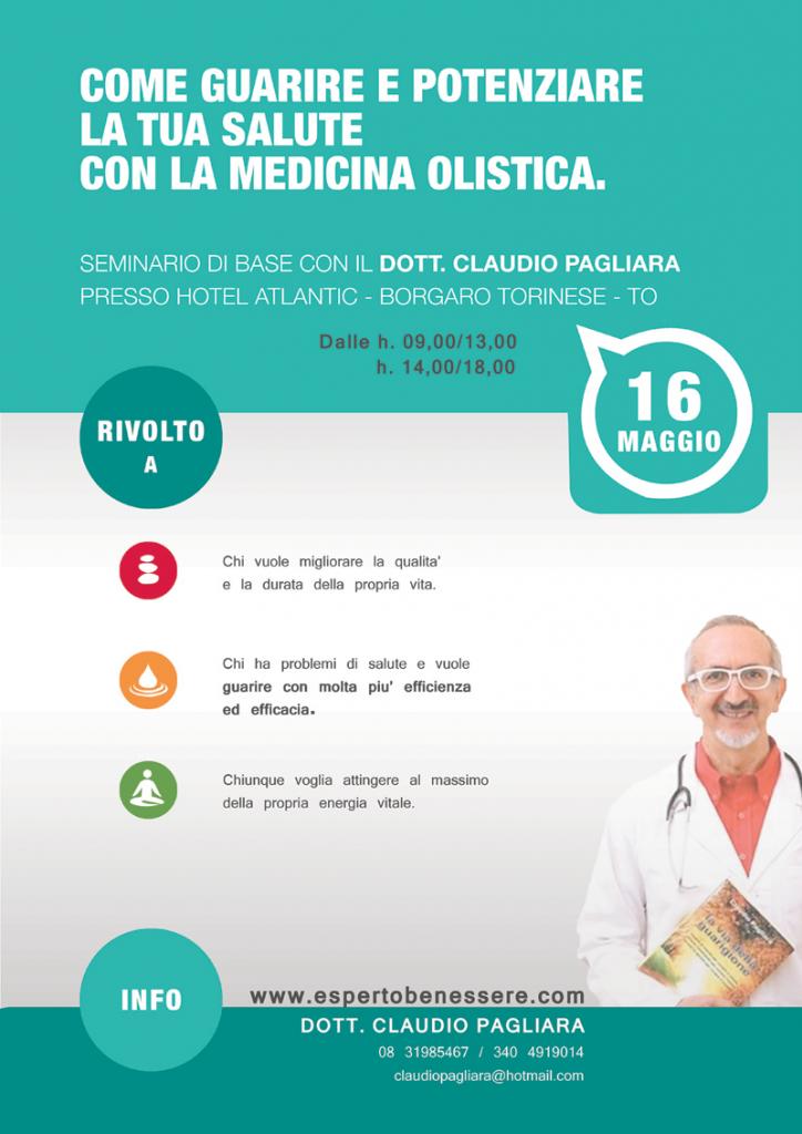 Seminario Dott. Claudio Pagliara 16 maggio